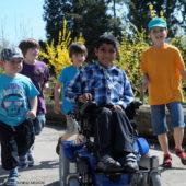 elektrischer Rollstuhl für Kinder, Melle