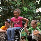 Rollstuhl für Kinder, flexibel und wendig, bei RAS in Melle