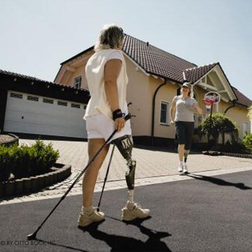 Bilder von Prothesen im Alltag