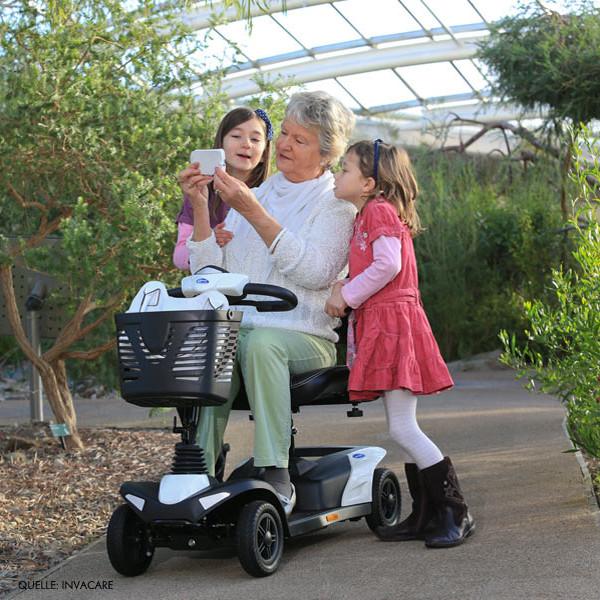 Mobilität, Bewegung mit dem Elektromobil