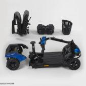 Elektromobil zerlegbar für die Reise