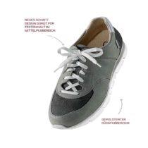 Hallux valgus Schuhe extra gepolster