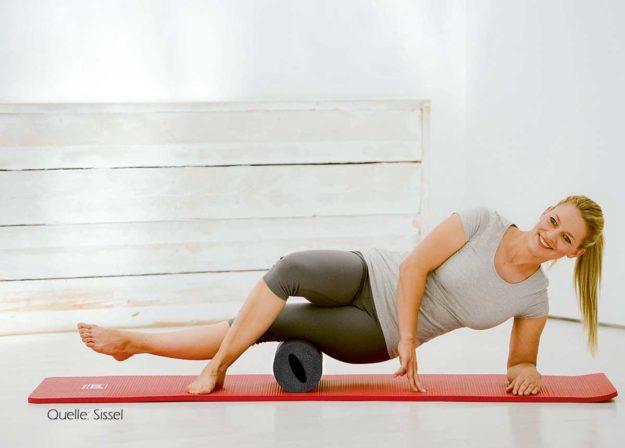 Faszien Roller, Schmerzen; Muskeln und Gelenke