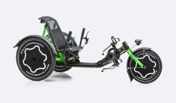 Dreirad mit Handicap - ohne Handicap