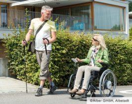 elektrische Unterstützung Rollstuhl
