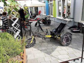 Veranstaltung Mobilitätstage bei RAS, Fahrrad, Dreirrad, Reharad, Hase Bikes Melle